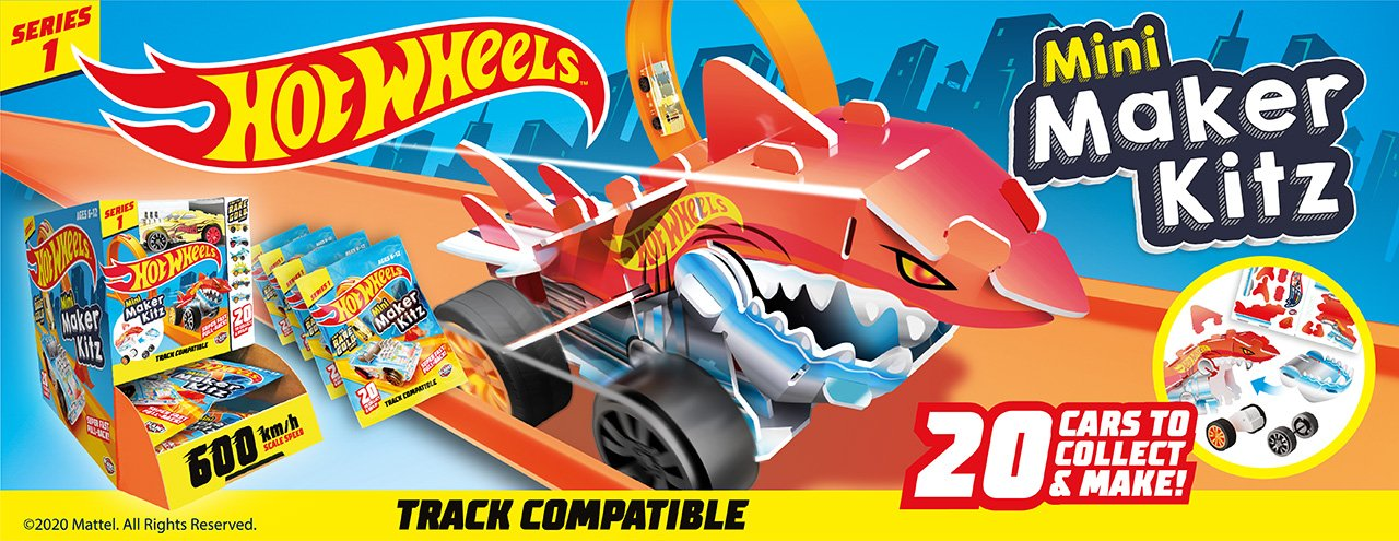 Hot Wheels Mini Maker Kitz