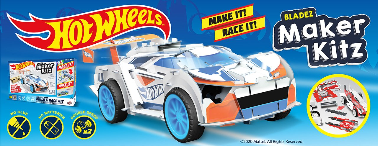 Hot Wheels Maker Kitz - Street Racer Kitz