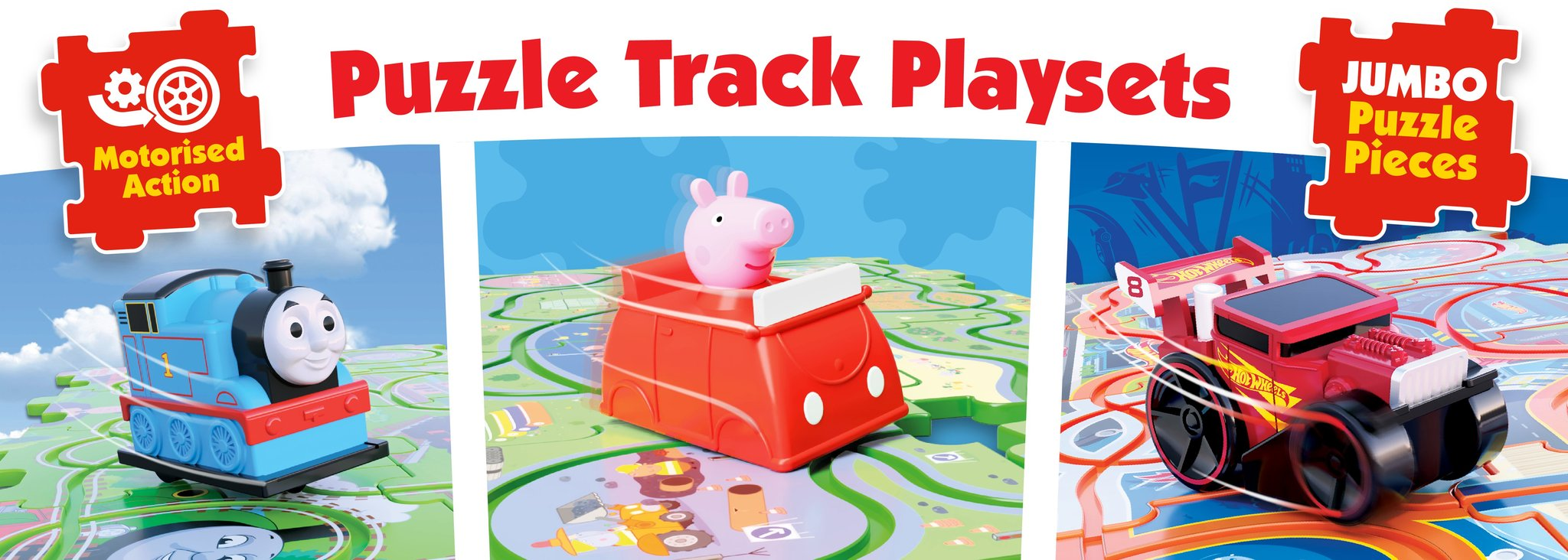 Puzzle Track Playset