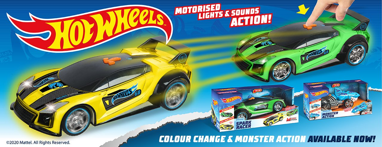 Hot Wheels Lights & Sounds