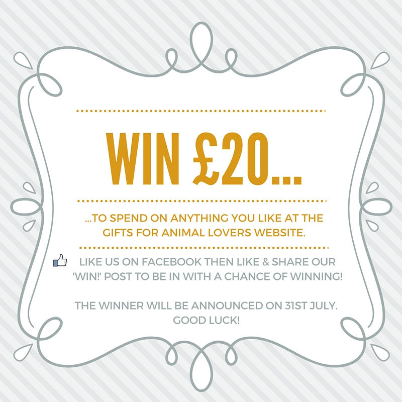 Fancy winning yourself a £20 voucher to spend on our website?