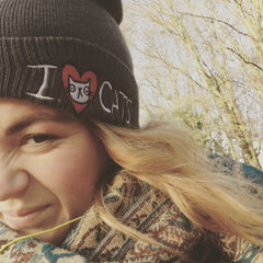 I Heart Cats Bobble Hat