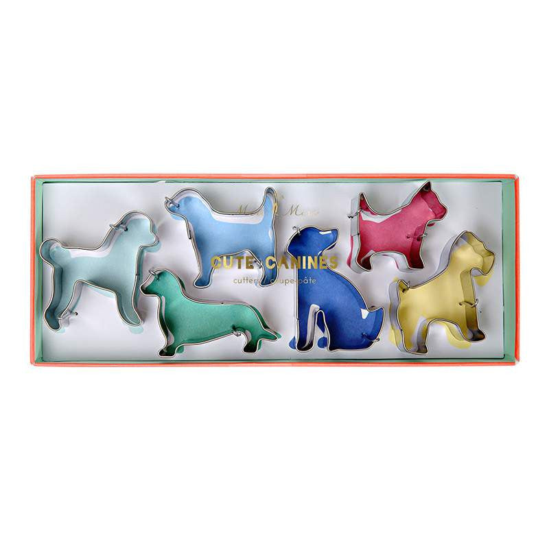 Dog Shaped Cookie Cutters