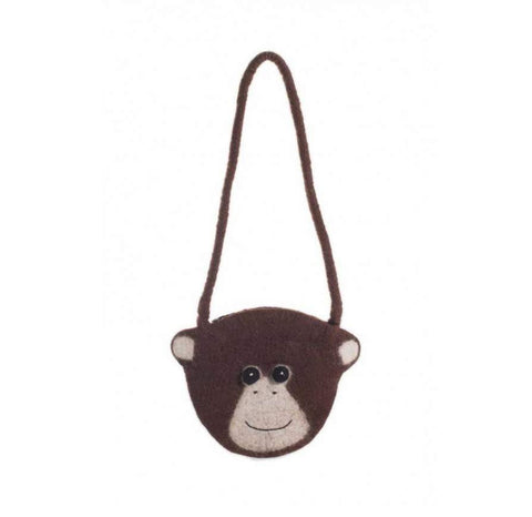 Fair Trade Chimp Shoulder Bag