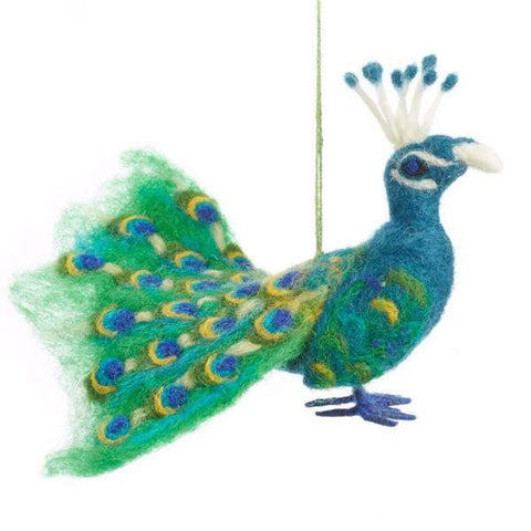Fair Trade Peacock Decoration
