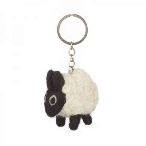 Fair Trade Sheep Keyring