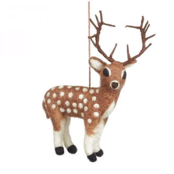 Fair Trade Stag Christmas Tree Decoration | Gifts for Animal Lovers