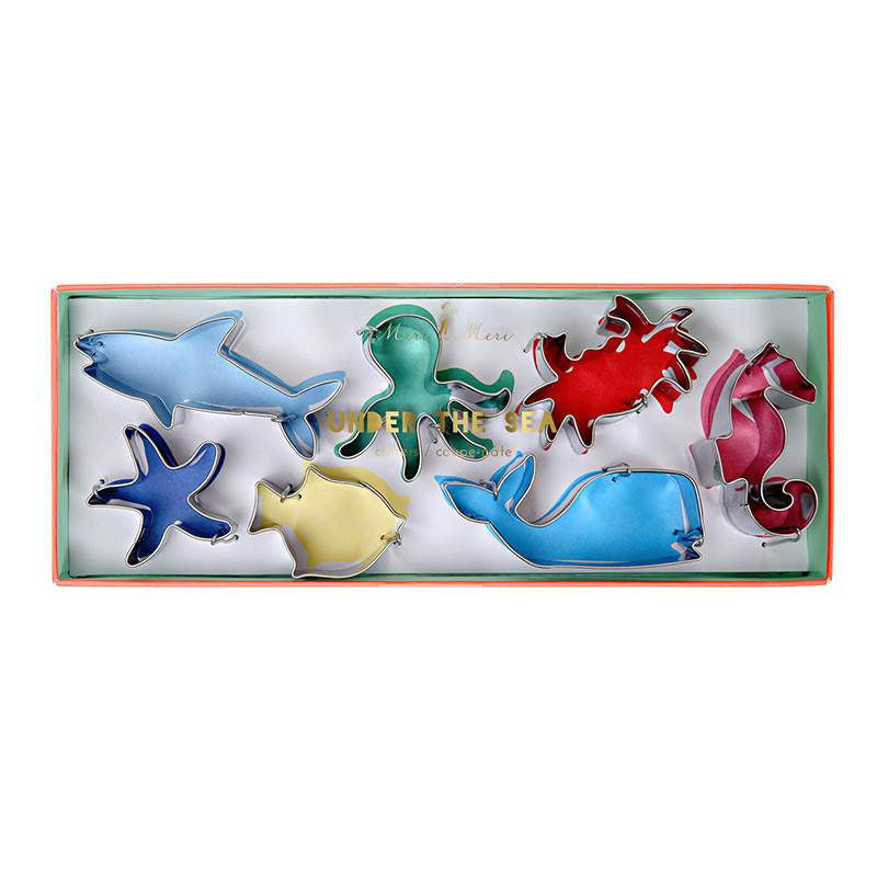 Sea Creature Cookie Cutters