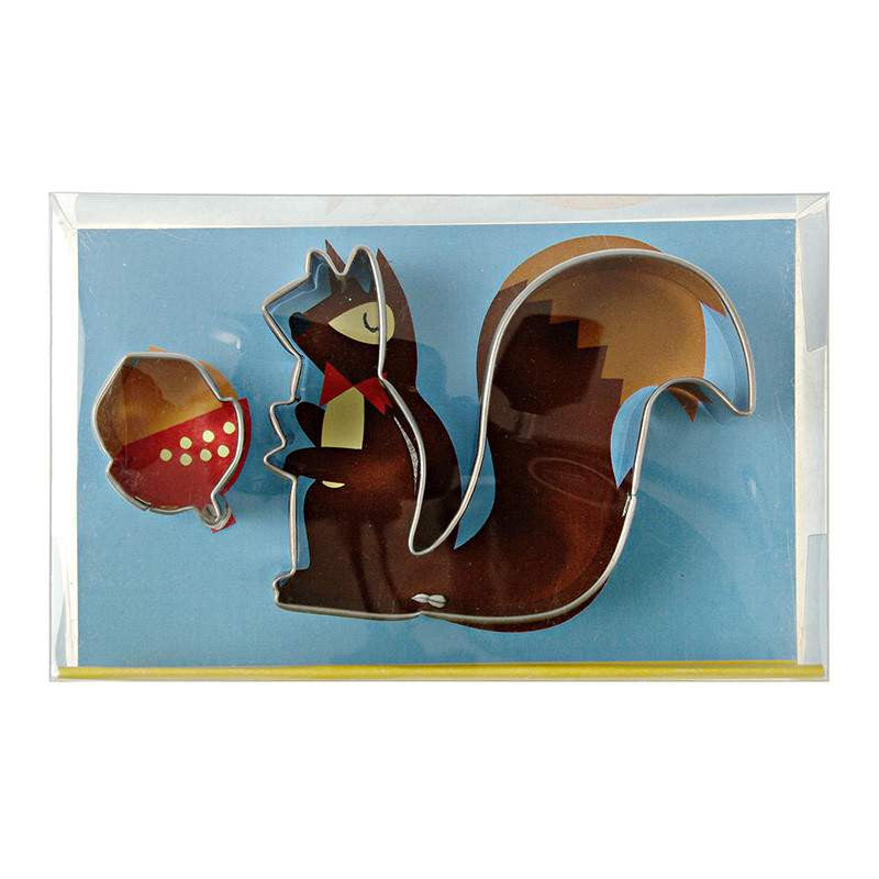 Squirrel & Acorn Cookie Cutters