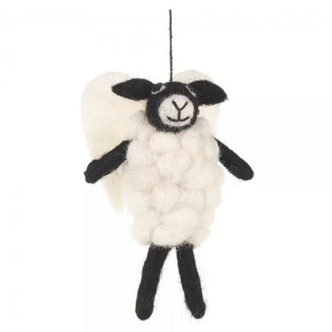 Angel Sheep Christmas Tree Decoration | Gifts for Animal Lovers