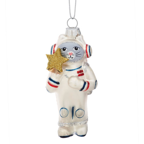 Cat Astronaut Bauble | Christmas Tree Decorations