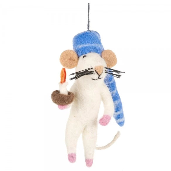 Bedtime Mouse Christmas Decoration | Gifts for Animal Lovers