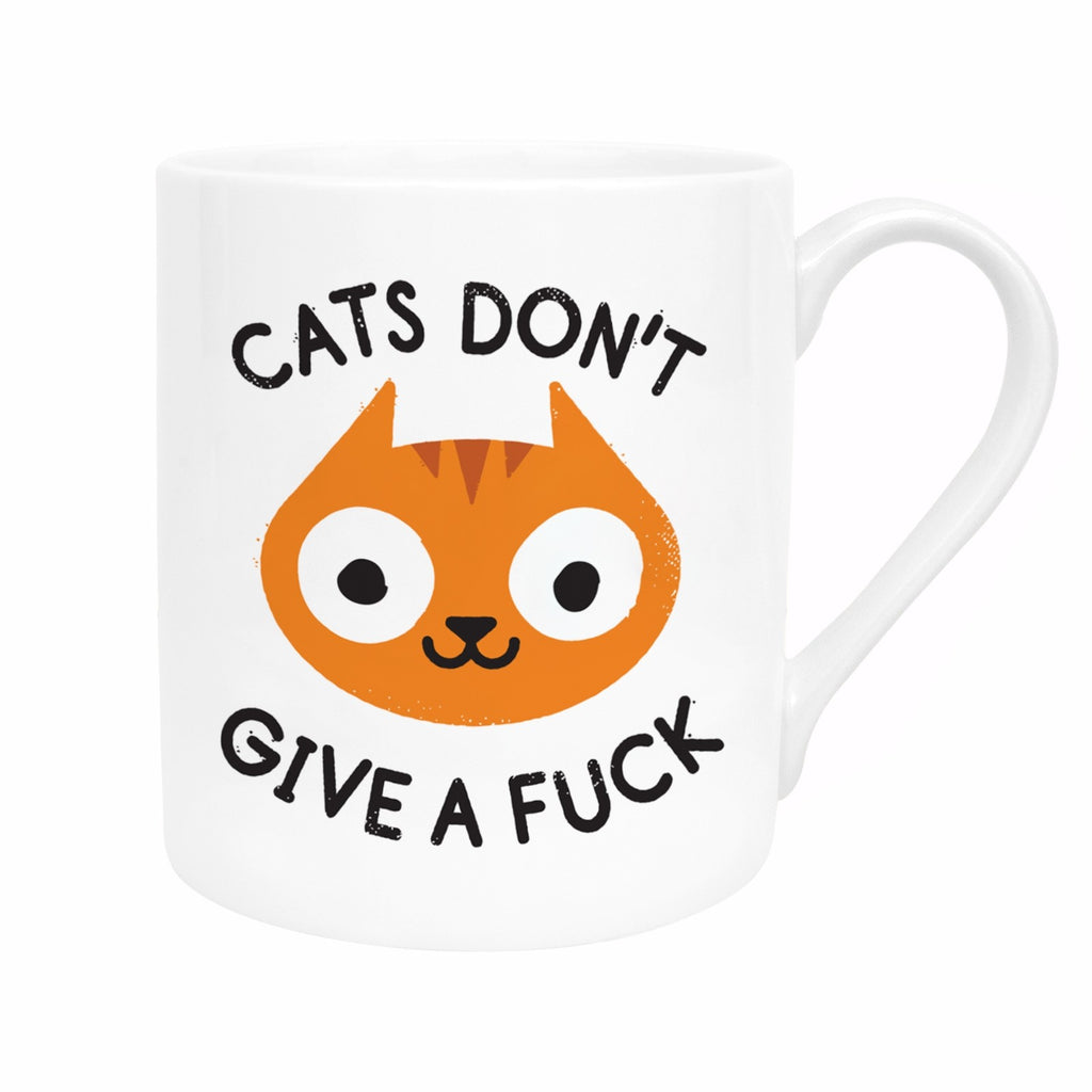 Cats Don't Give A...Mug | Cat Gifts