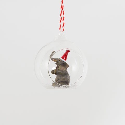 Elephant Christmas Bauble | Animal Christmas Tree Decorations