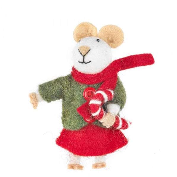 Christmas Mouse Decoration | Tree Ornaments at Gifts for Animal Lovers