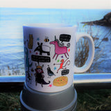 Cup of Courage Mug Back | Unique Gifts for Animal Lovers