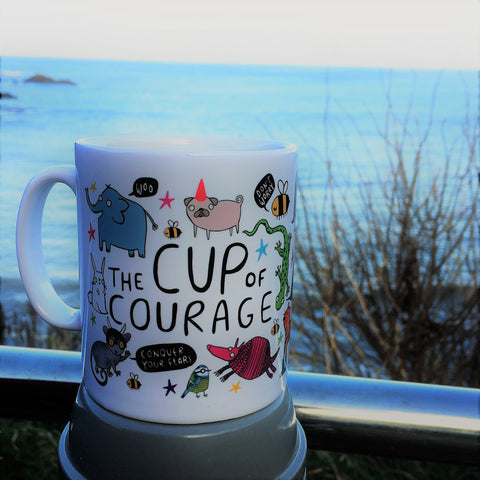 Cup of Courage Mug | Unique Gifts for Animal Lovers