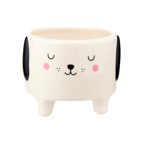 Cute Dog Planter | Dog Lover Home Gifts