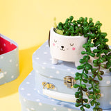 Cute Dog Plant Pot | Dog Lover Home Gifts