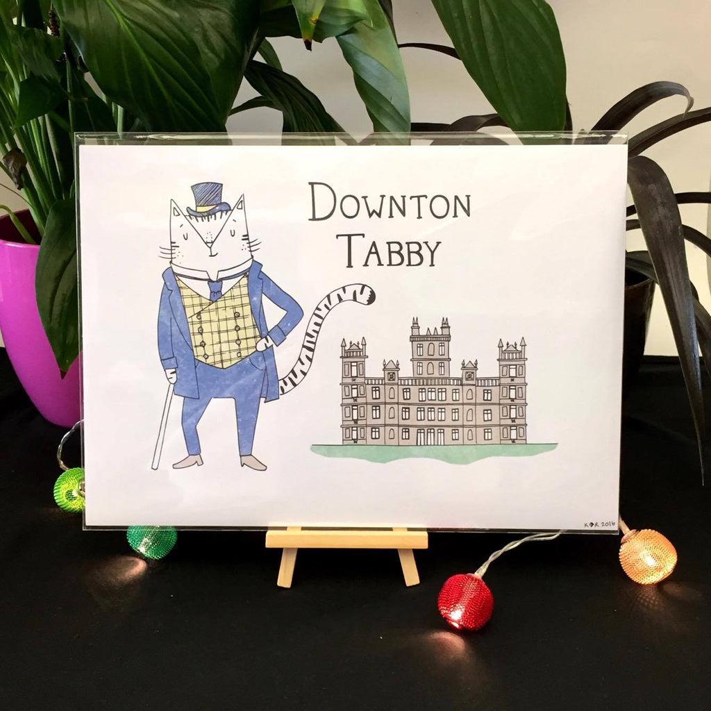 Downton Tabby Print | Gifts for Animal Lovers