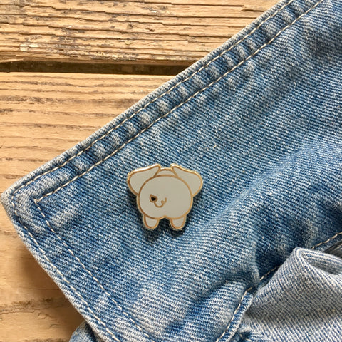 Elephant Butt Enamel Pin | Gifts for Elephant Lovers