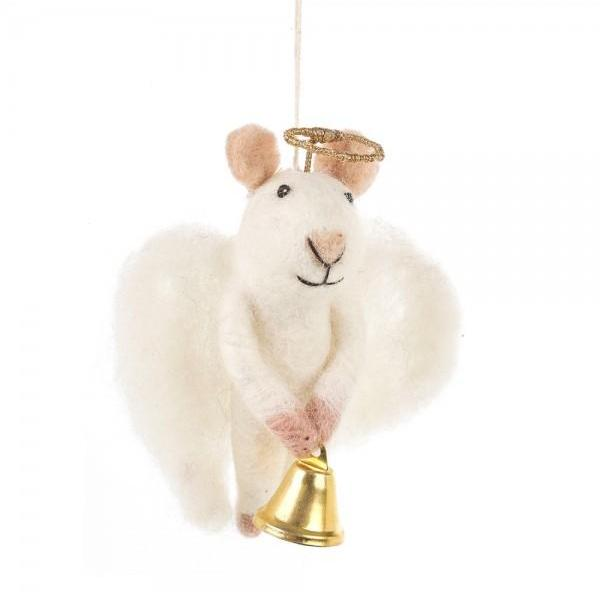 Angel Mouse Christmas Tree Decoration | Gifts for Animal Lovers