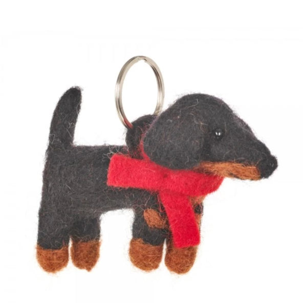 Dachshund Keyring | Eco-Friendly Gifts for Animal Lovers