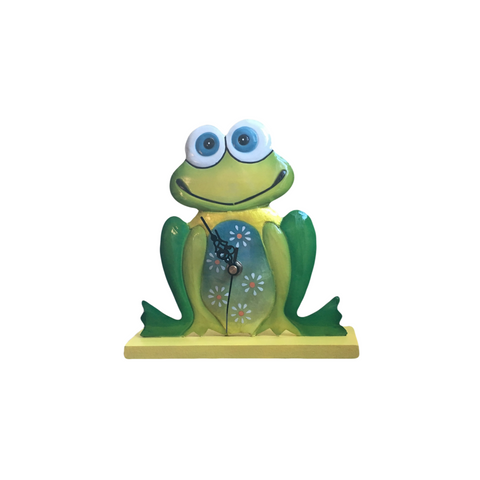 Fair Trade Frog Clock | Quirky Animal Gifts