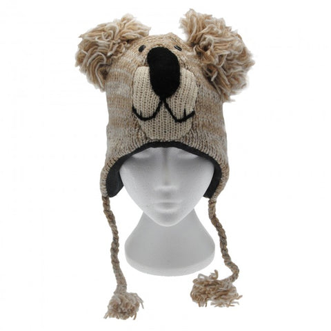 Fair Trade Koala Woollen Animal Hat