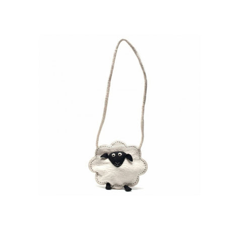 Fair Trade Sheep Shoulder Bag | Children's Animal Accessories - giftsforanimallovers.co.uk
