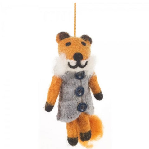 Freddy Fox Tree Ornament | Woodland Christmas Decorations