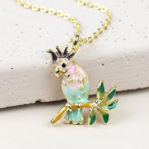 Parrot Necklace | Jewellery at Gifts for Animal Lovers