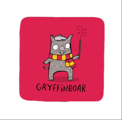 Gryffinboar Coaster |  Gifts for Animal Lovers