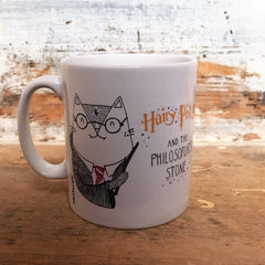 Hairy Potter Mug | GIfts for Cat Lovers