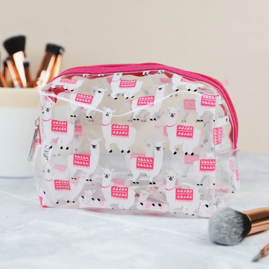 Llama Make Up Bag | Animal Themed Accessories