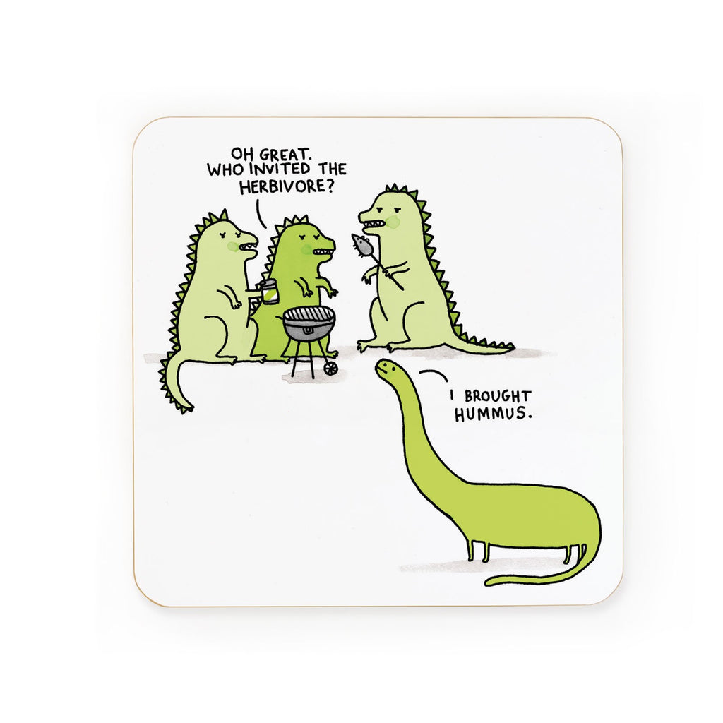 Herbivore Coaster | Gifts for Animal Lovers