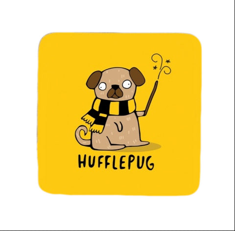 Hufflepug Coaster | Harry Potter Fun Puns at Gifts for Animal Lovers