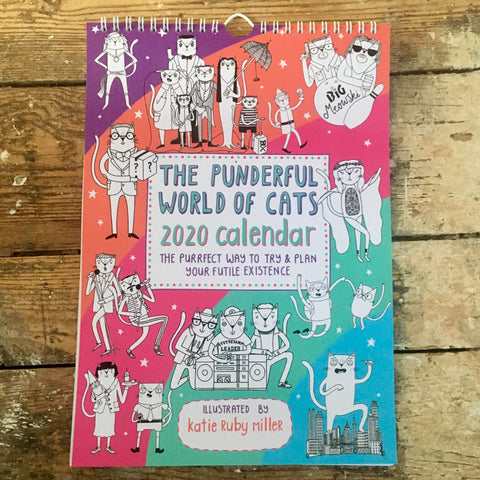 The Punderful World of Cats 2020 Calendar | Gifts for Cat Lovers