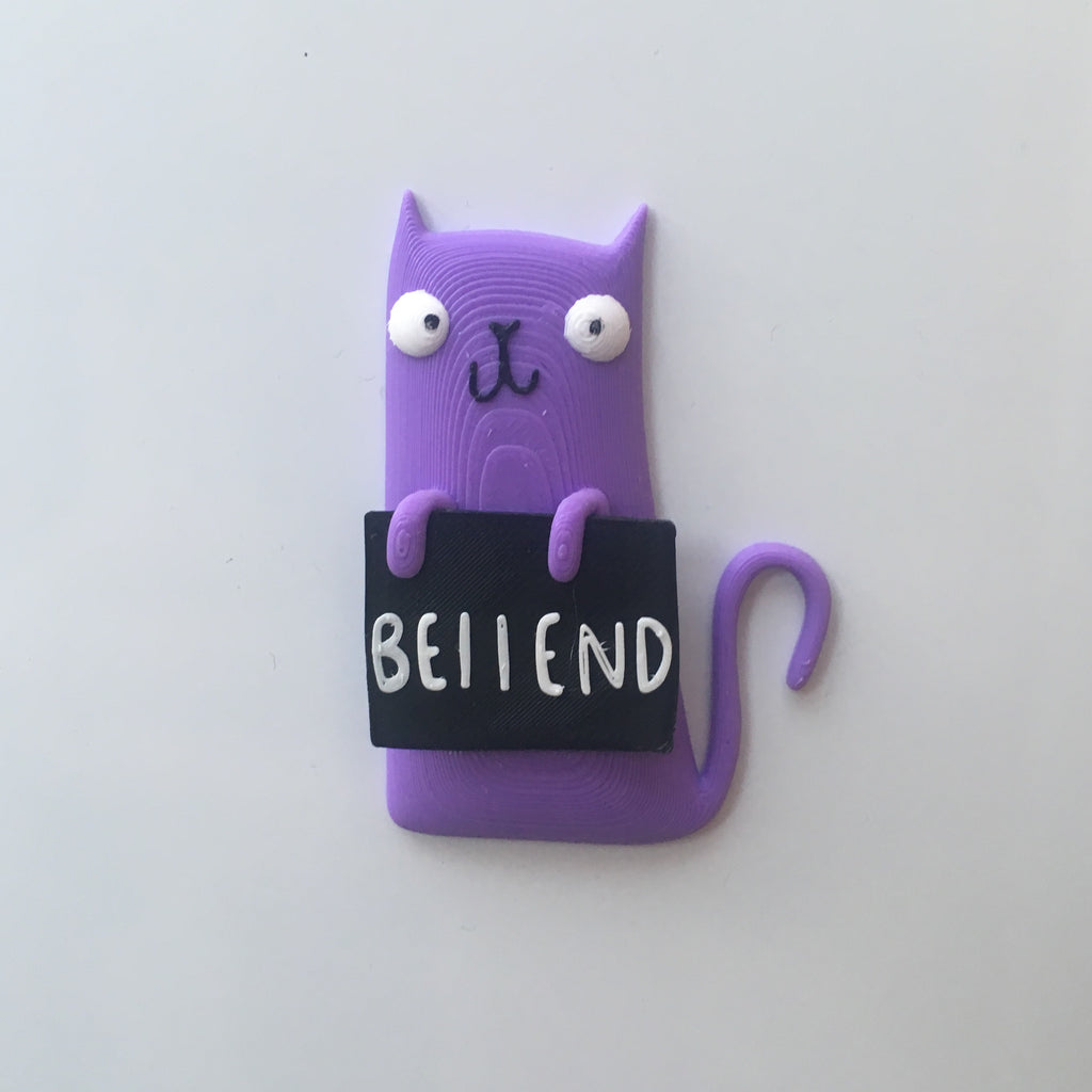 Bellend Cat Magnet | Quirky Gifts for Animal Lovers