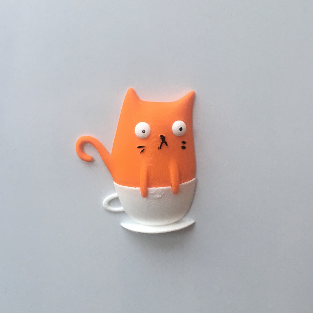 Catpurrcino Magnet | Homeware for Cat Lovers