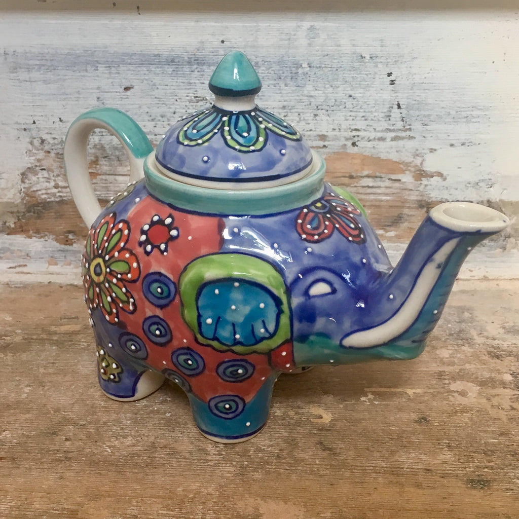 Fair Trade Elephant Teapot | Gifts for Animal Lovers
