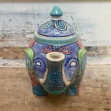 Fair Trade Elephant Teapot Front | Gifts for Animal Lovers
