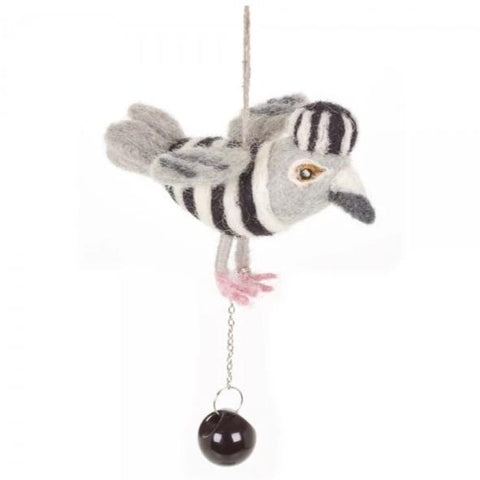 Jail Bird Hanging Decoration | Fair Trade Animal Christmas Ornaments