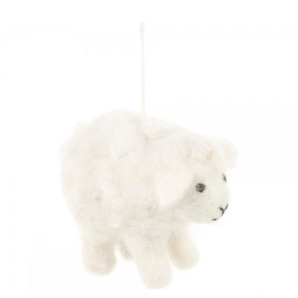 Little Lamb Christmas Decoration | Animal Festive Home Decor