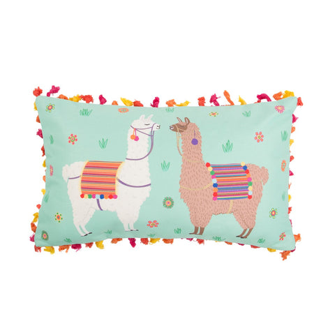 Llama Cushion with Tassels - Sass & Belle | Animal Cushions