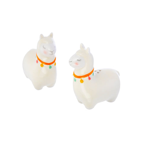 Llama Salt & Pepper Shaker Set | Llama Lover Kitchenware Gifts