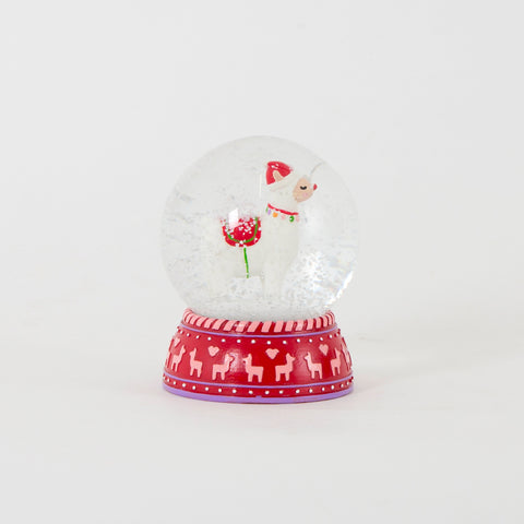 Llama Snow Globe | Christmas at Gifts for Animal Lovers