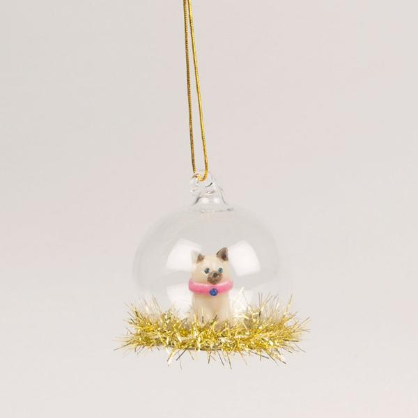 Christmas Cat Bauble | Animal Christmas Tree Decorations