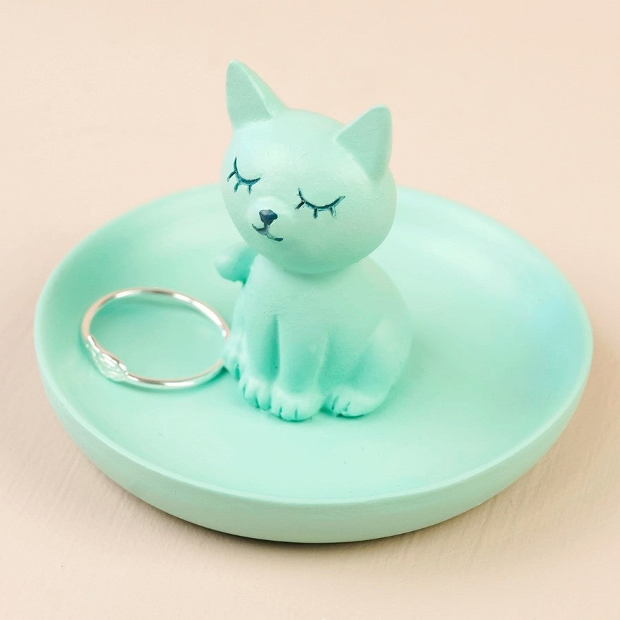 Mini Cat Jewellery Dish | Gifts for Animal Lovers