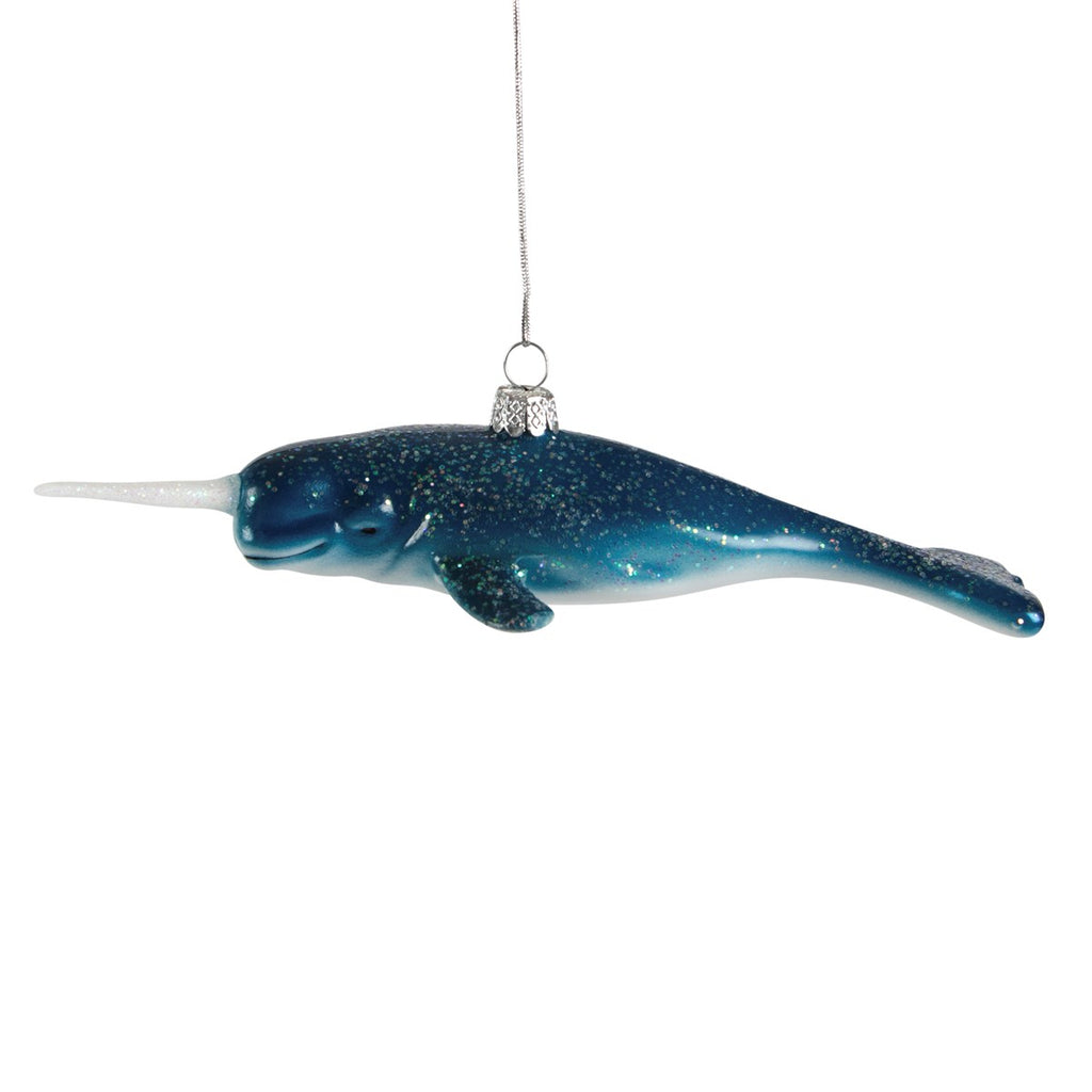 Narwhal Christmas Bauble | Sea Creature Hanging Decorations